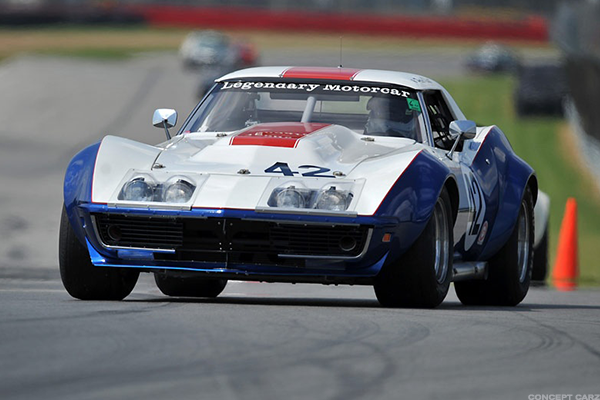 1969 Chevy Corvette Rebel Convertible Race Car