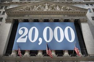 A Few Trade Ideas Ahead of Dow 20,000