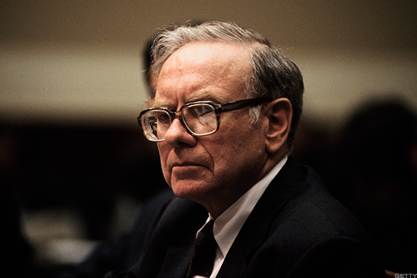 Warren Buffett in his younger years.