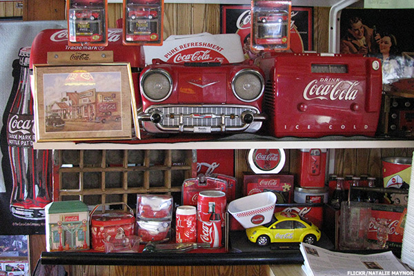 coca cola plates value