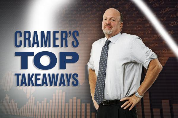 Jim Cramer's Top Takeaways: Salesforce, Fitbit, GoPro, Lockheed Martin, Raytheon