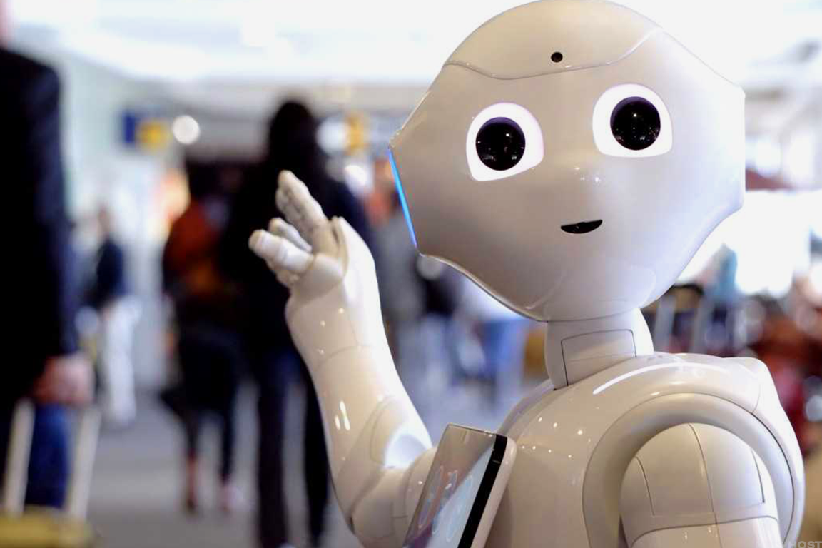 SoftBank's humanoid robot, Pepper