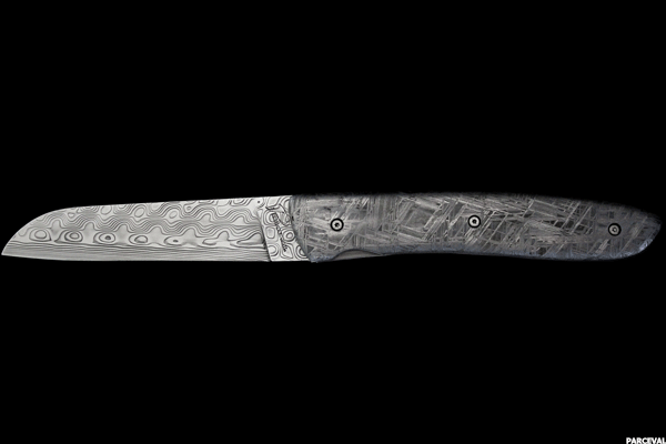 2. Perceval Meteor with Moretti blade and Imilac Meteorite handle
