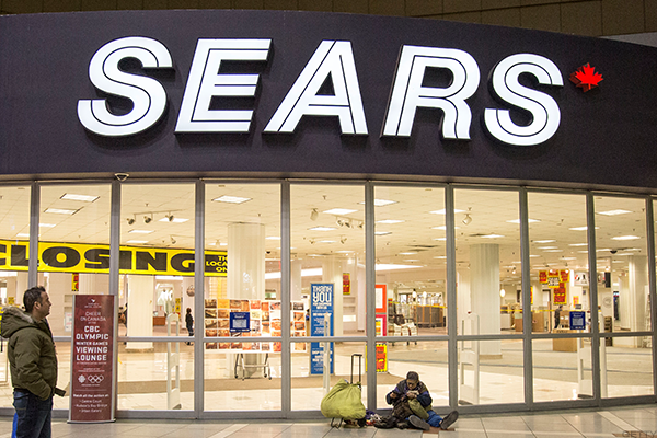 Sears Canada Says It Needs to Begin Liquidation This Week