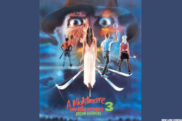 15. Nightmare on Elm Street 3: Dream Warriors