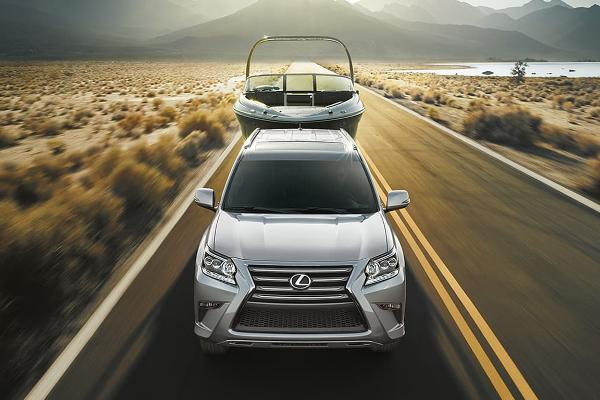 Luxury Midsize SUV: Lexus GX 460