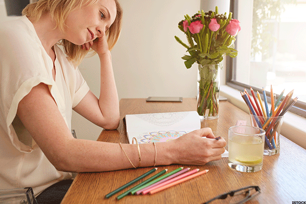 Adult Coloring Books -- Latest in Stress Therapy