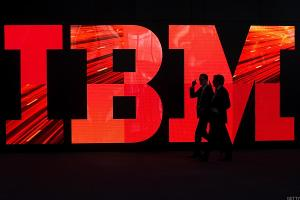 IBM Shares Fall Hard a Day After Disappointing Earnings