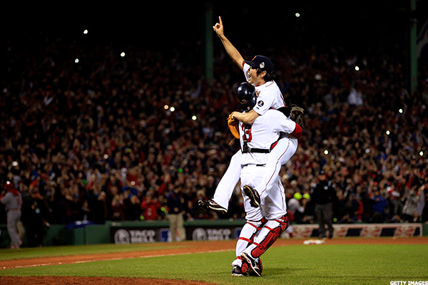 9. St. Louis Cardinals at Boston Red Sox