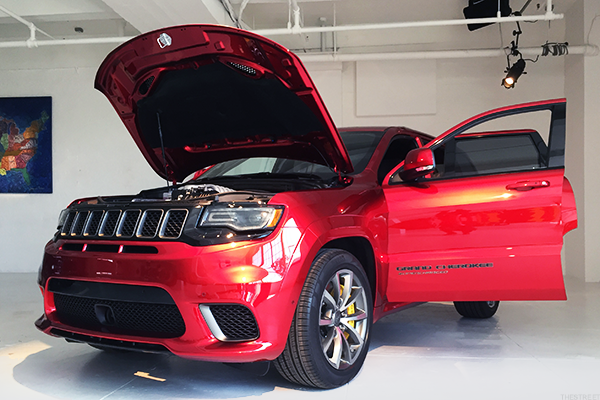 Here's a First Look at the New 707 Horsepower Jeep That May Be on Steroids