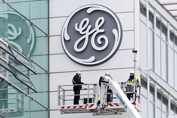 Stocks Come Off Lows but GE and Energy Sector Remain a Drag