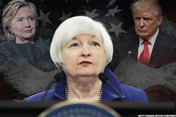 Fed Still Hopes It Can Gradually Hike Rates, but Trump Could Be an Issue