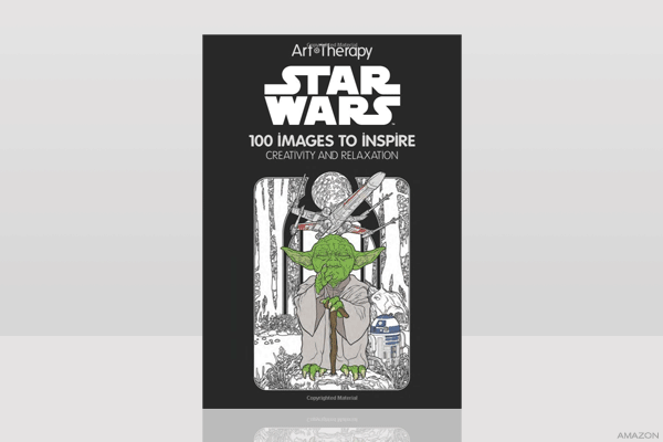 Star Wars Art Therapy Coloring Book