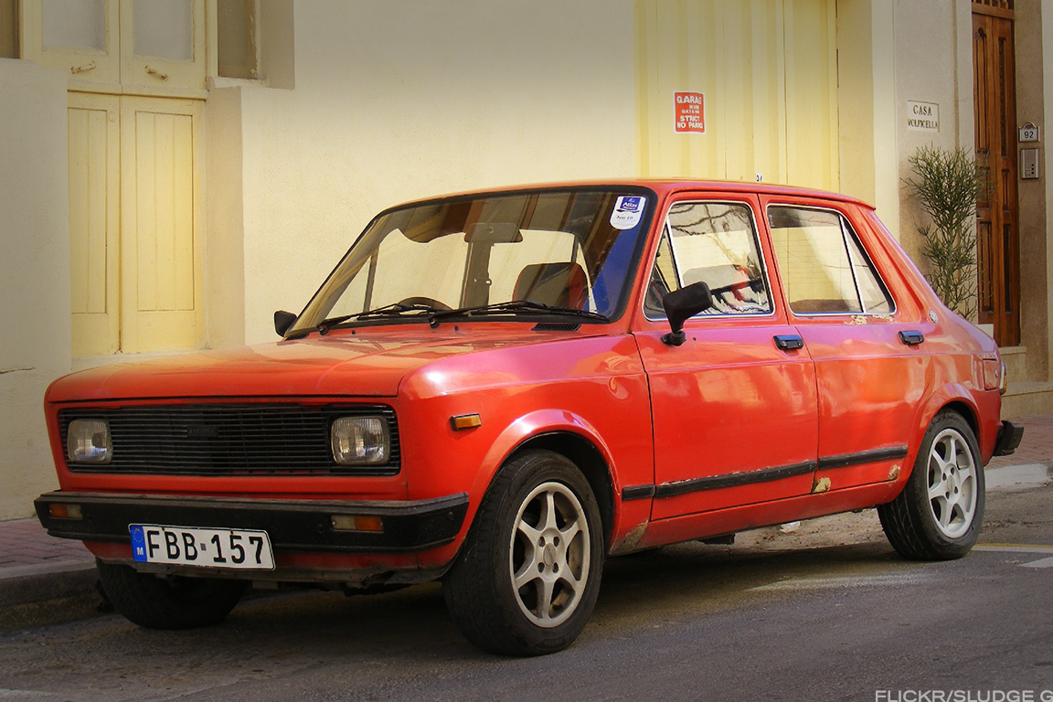 Yugo manufactured by Zastava Automobiles.