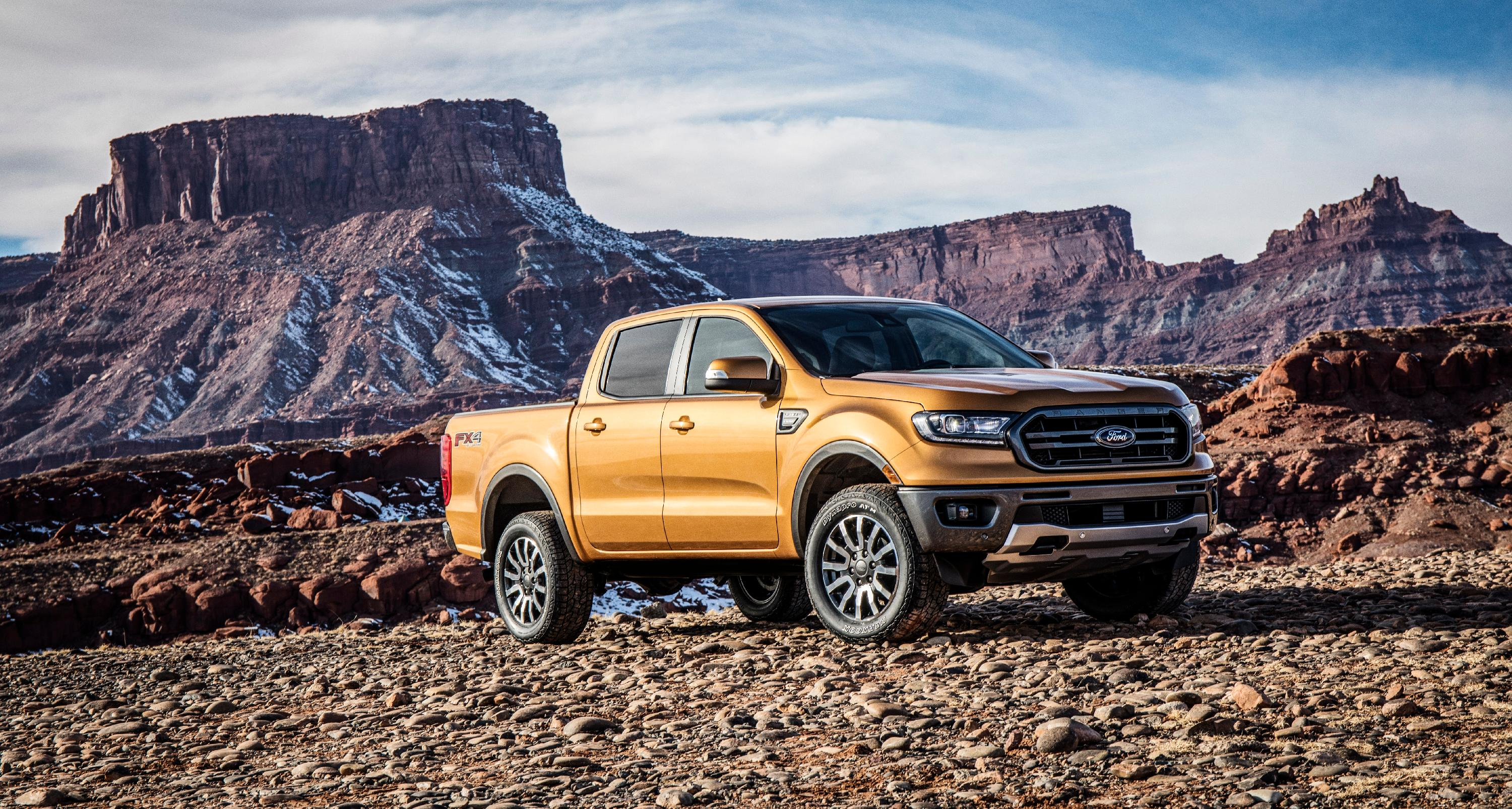 New Ford Ranger. Source: Ford