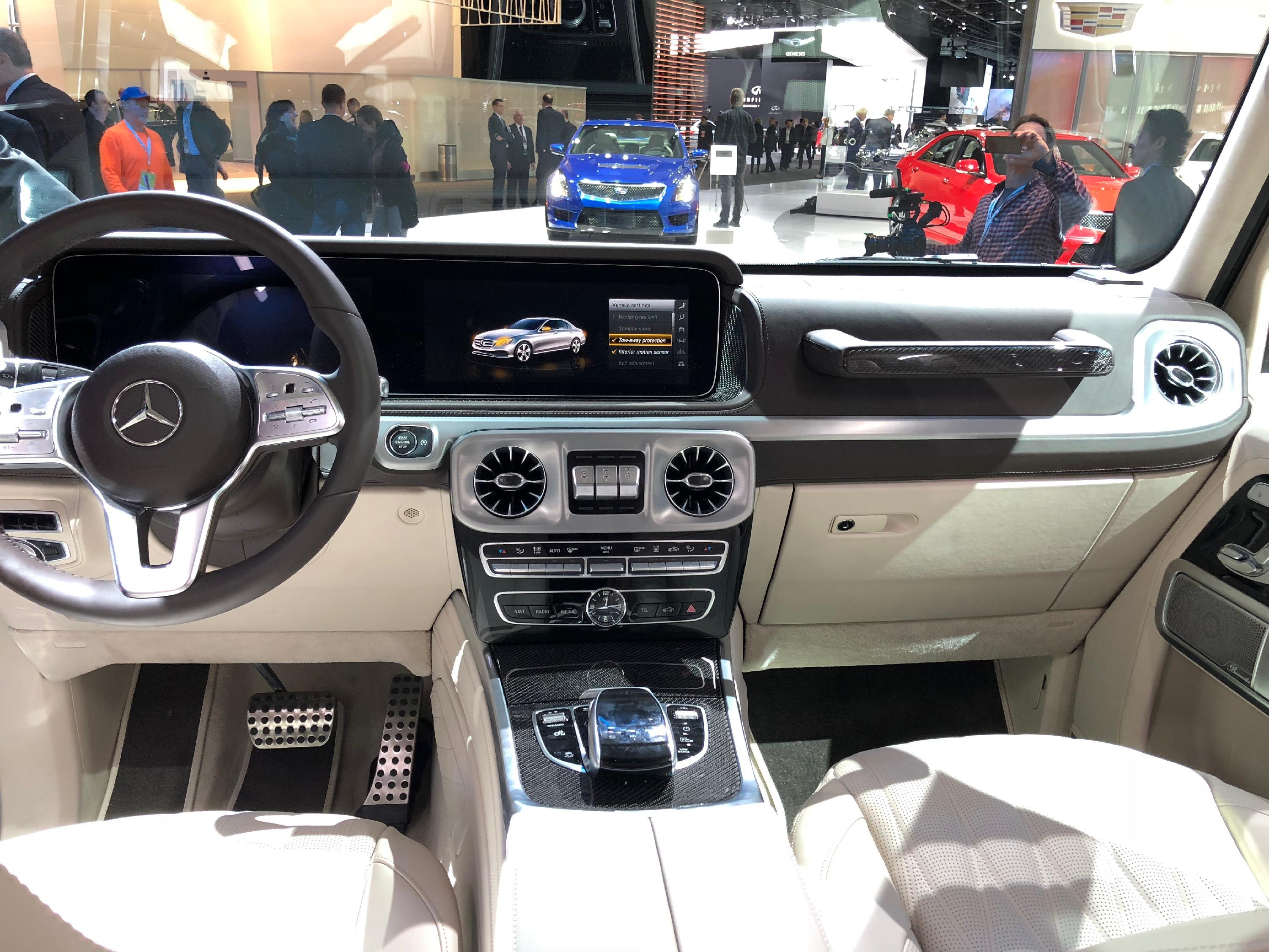 Mercedes G Wagon Interior 2019