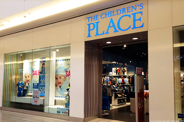 The Children's Place Bumped Up to Outperform, While Gymboree Embraces Chapter 11