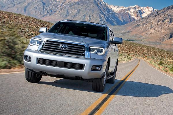 Large SUV: Toyota Sequoia