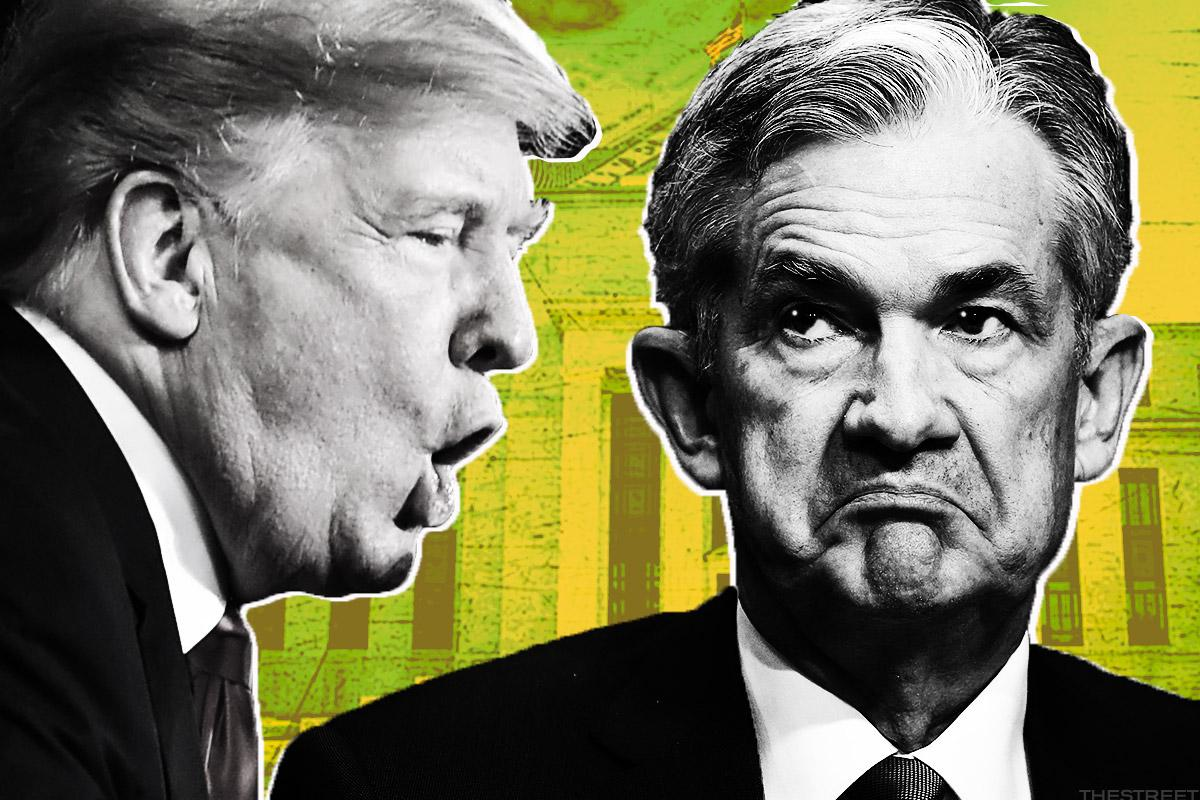 Trump Holds Surprise Meeting With Fed Chair Powell, Says 'Everything Discussed'