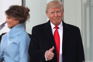 Trump's Inauguration Was Seen and Heard on Twitter and Facebook -- Of Course