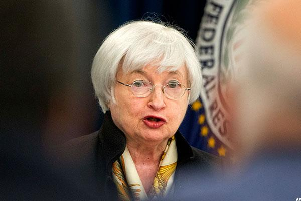 Stocks Pare Losses; Fed Officials Hint at September Hike