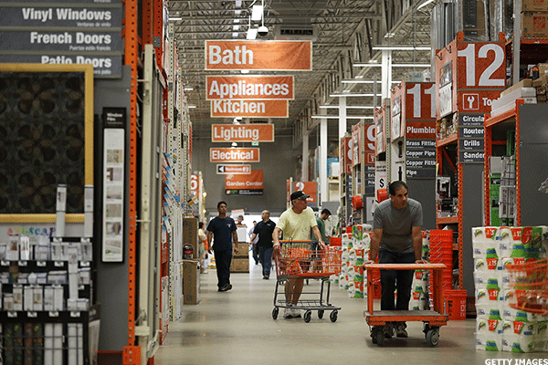Cramer: The Gloom on Home Depot and Lowe's Is a Blip