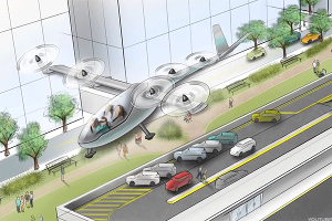 Uber to Unveil Flying Car Network Plans