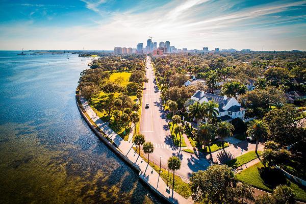 16. Tampa-St. Petersburg-Clearwater, Fla.