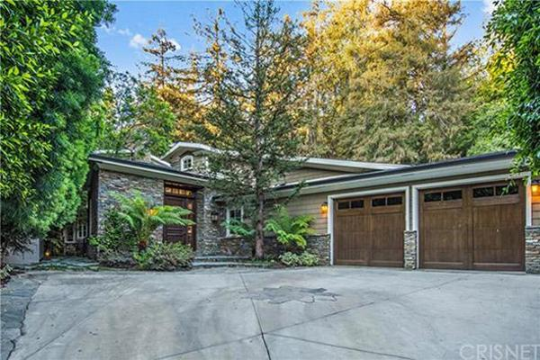 8. Pete Sampras and Bridgette Wilson's Brentwood home