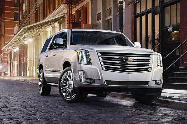 Luxury Large SUV: Cadillac Escalade