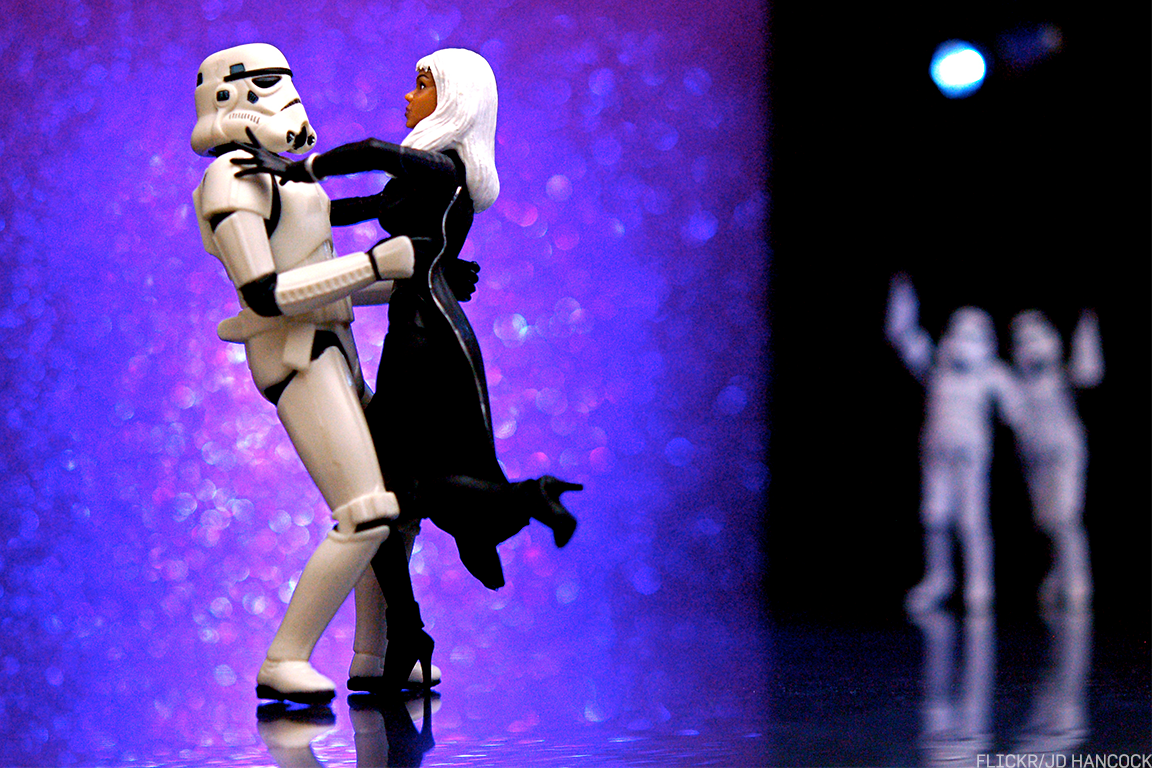 Will Storm Troopers be dancing with Storm in the near future?