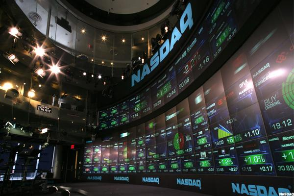 Bloomberg TV's Doolittle Reports on The NASDAQ's Tuesday Morning Movers