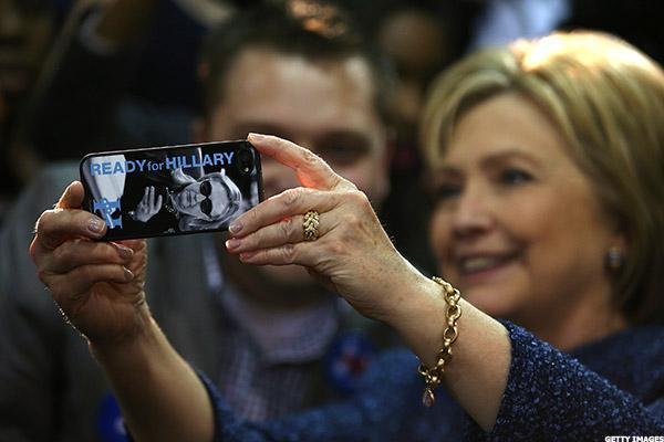 Hillary Clinton Stock Portfolio Dips as Lead in the Polls Holds