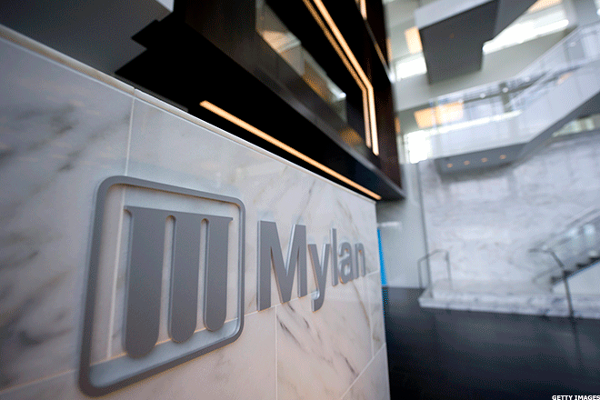 Mylan Stock Spikes on Earnings Beat