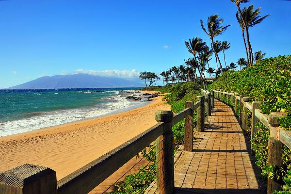 Wailea Beach, Wailea, Hawaii