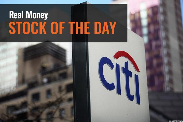 Jim Cramer: Citigroup May Be the Metaphor for the Moment