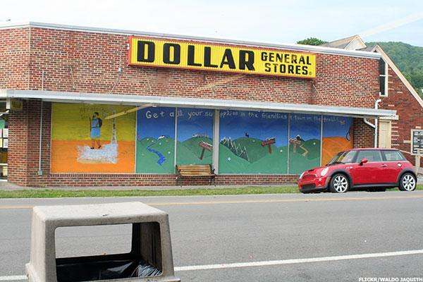 Jim Cramer -- Dollar General Hurt by Food Prices