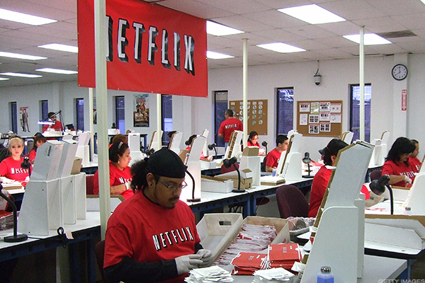 Netflix Shares Keep Streaming Higher