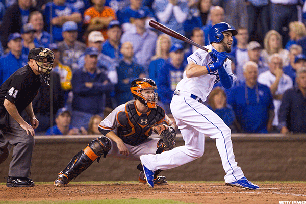15. San Francisco Giants at Kansas City Royals
