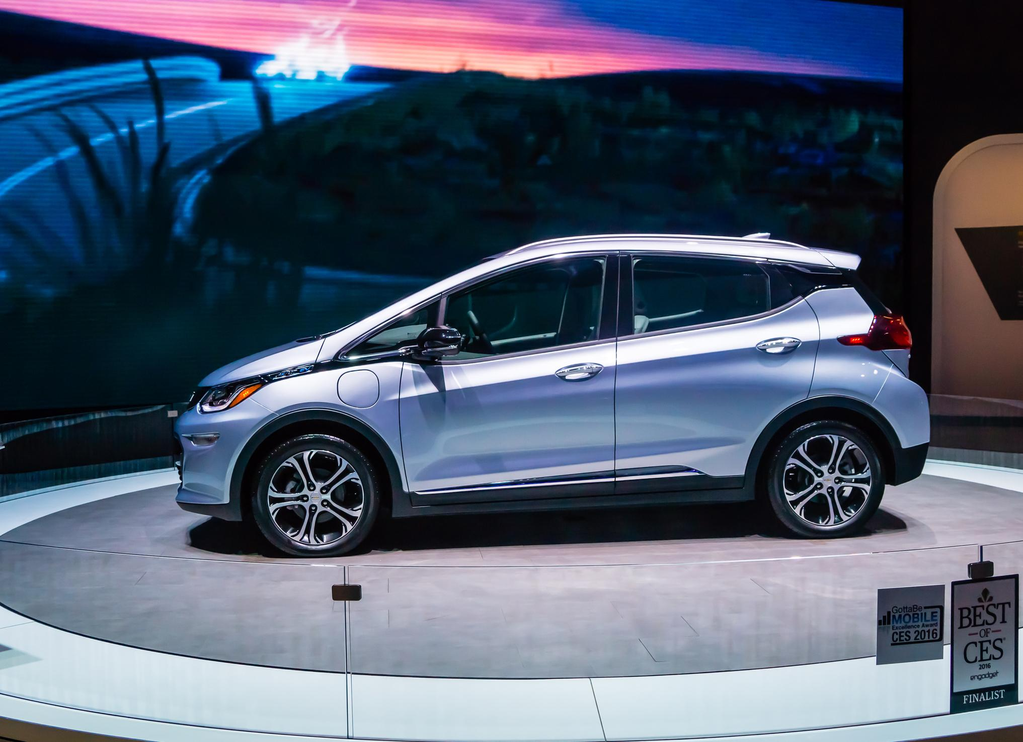 GM's Chevy Bolt.