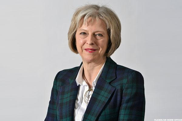 Theresa May to Be Appointed New U.K. Prime Minister