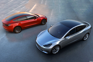 Tesla Offers First Look at Model 3 for 400,000 Who Preordered
