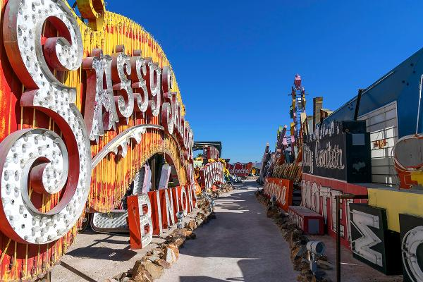 Neon Boneyard and Neon Museum, Las Vegas