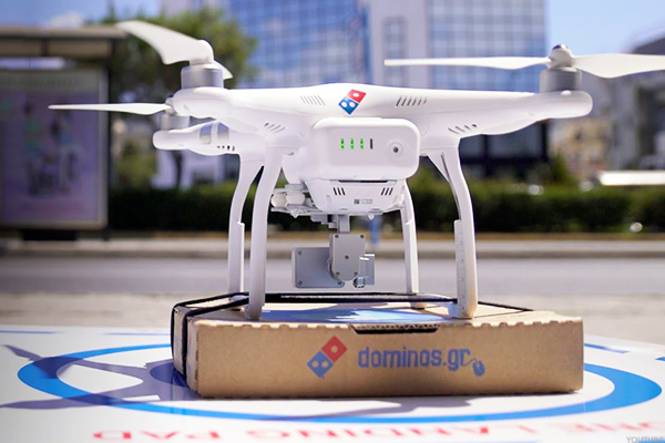 Can Flying Robots Help Deliver Another 400% Explosion in Domino's Stock?