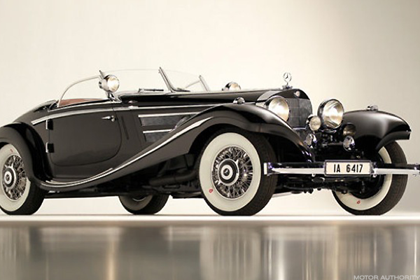 30. The 1937 Mercedes-Benz 540K Special Roadster