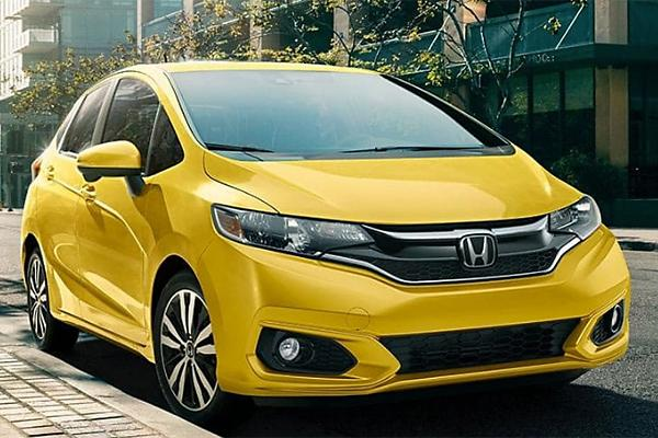 2019 Honda Fit 1.5 L, 4 cyl, Automatic (variable gear ratios), Regular Gasoline