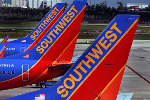 Airline Stocks Tumble After Southwest Cuts Revenue Outlook