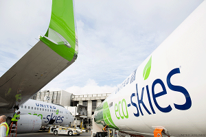 How United Leads the Airline Industry in Reducing Carbon Emissions