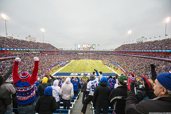 1. Buffalo Bills vs. Detroit Lions