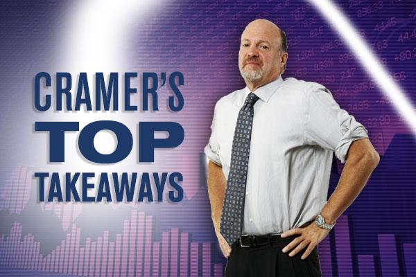 Jim Cramer's Top Takeaways: Anadarko, EPR Properties, Columbia Sportswear, American Electric Power